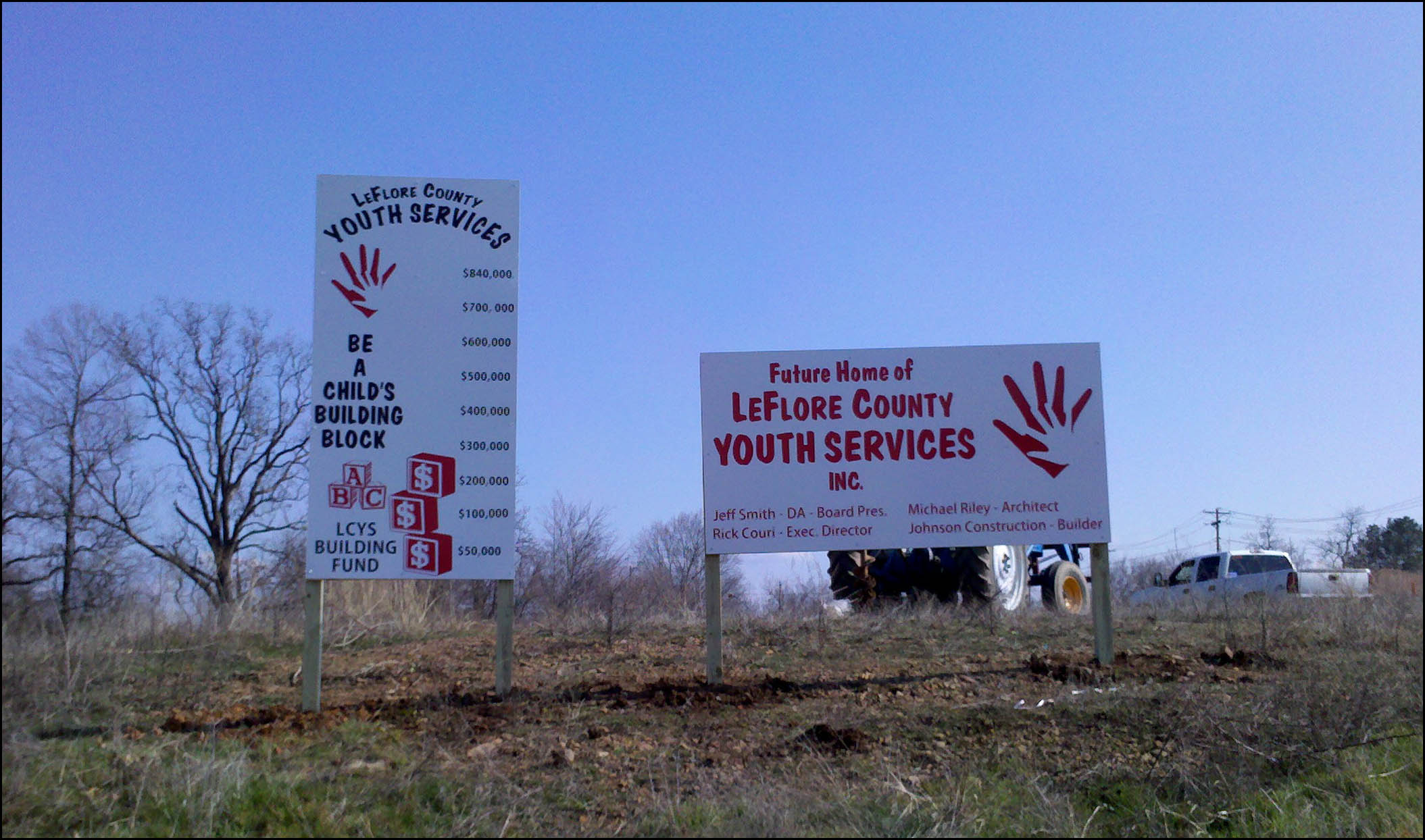 LCYS signs