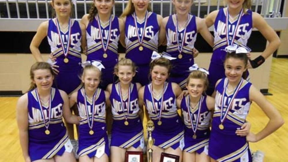 Heavener JH cheerleaders place | Leflore County Journal