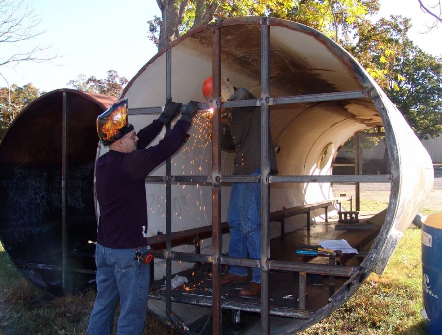 Shelter Metal Weld : Leflore county journal ktc students assist with storm