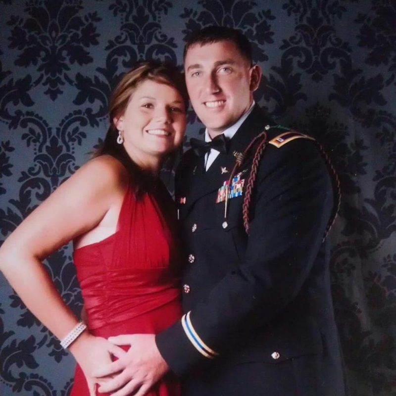 Chief Warrant Officer 2 Randy Billings and wife Ashley