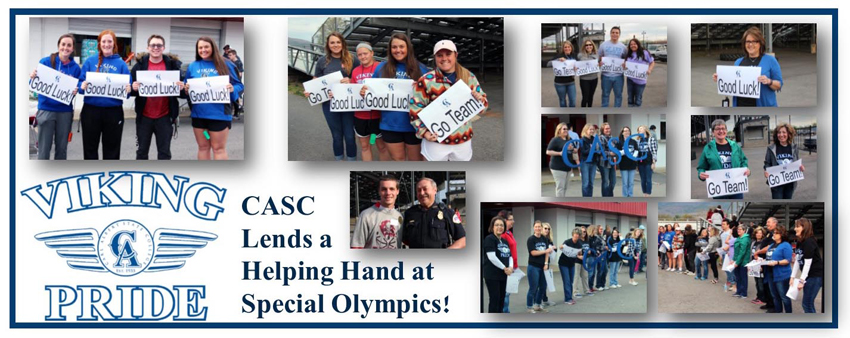 special olympics – CASC support – mediaweb