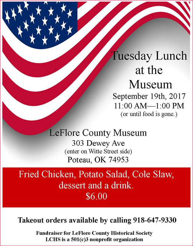 Tuesday Lunch at Museum sep 2017