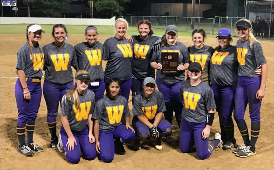 wister girls win districts