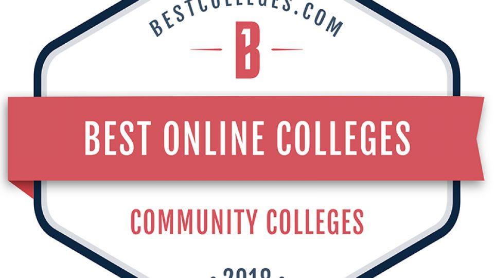 bestonlinecollege badgeweb