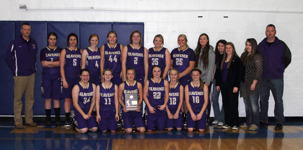 Heavener Lady Wolves 2015 Class 3A district tournament champions