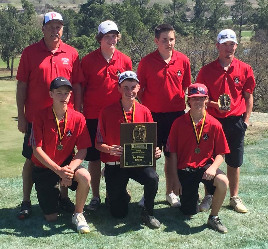 Poteau's boys came in first at the McAlester Tournament on Monday