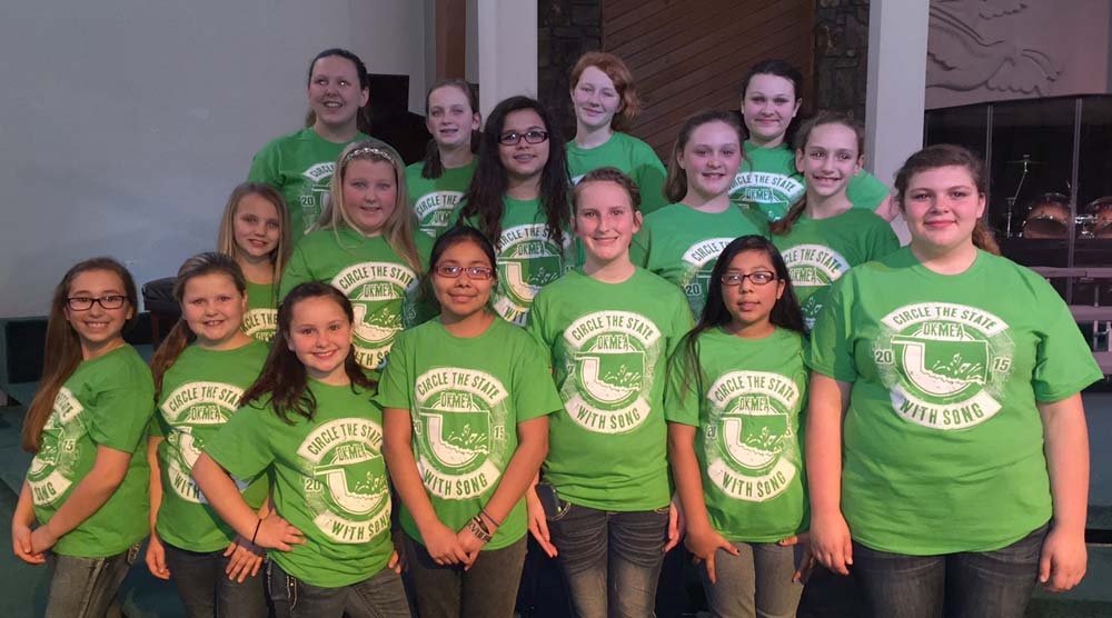 Pictured (left to right): first row Abby Huie, Havyn Summers, Sydnee Shipman, Jackie Oliveres, Adrianna Luman, Vanesa Romero and Lillian Smith. Second row Maci Pitchford, Gracyn Thompson, Selsa Jacinto, Bryliegh Schiffner and Morgan Smith. Third row Gracie Summers, Jaedyn Williams, Katie Grice and MaKaylee Andrews