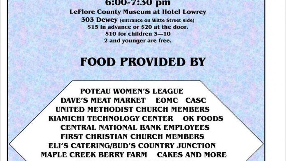 Taste of LeFlore County 2017 flyer PDF.pdf