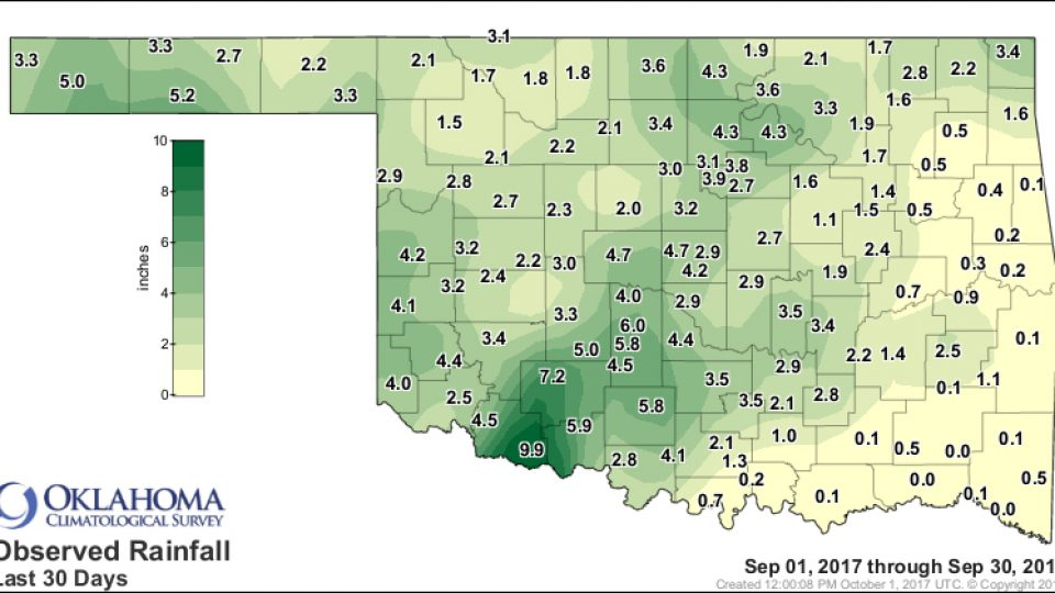 september rain totals