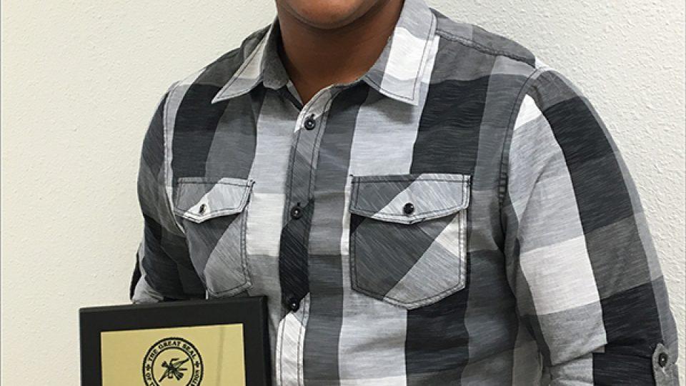 Kevin Pollard Choctaw award