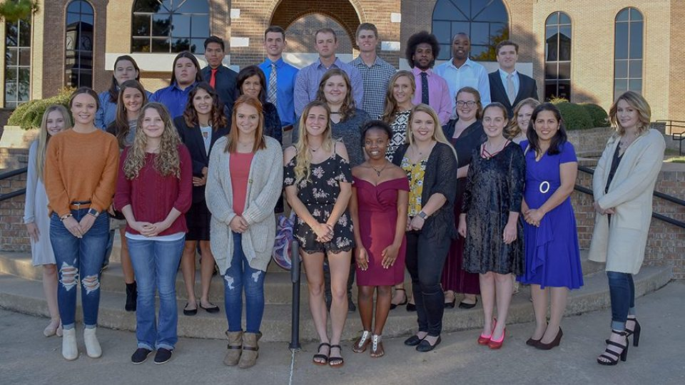 2018 PTK Fall Inductees